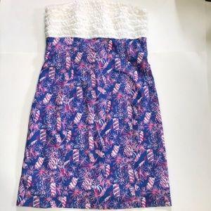 Lilly Pulitzer Cherry Bomb Firecracker Dress Sz 6